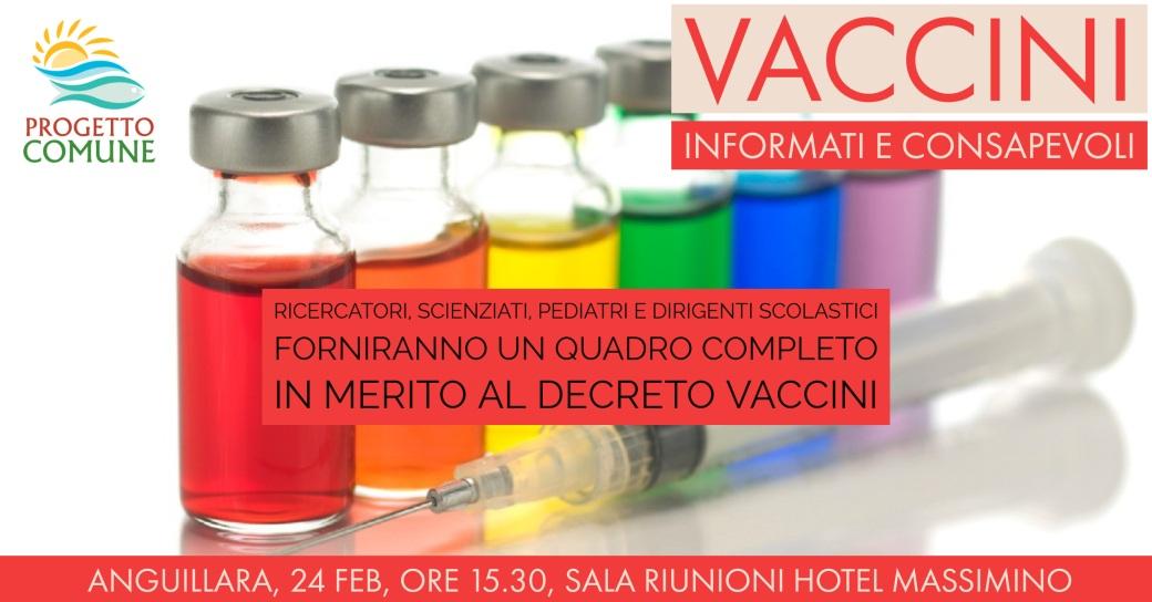 Vaccini: informati e consapevoli